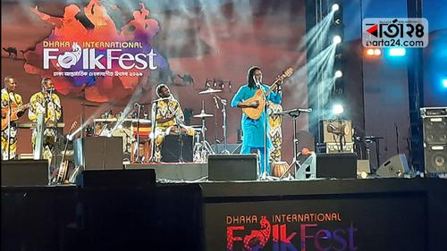 ফোক ফেস্ট মাতালেন কিংবদন্তি হাবিব কইটে