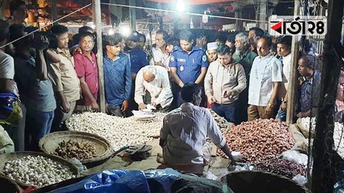 গোবিন্দগঞ্জে ৫ পেঁয়াজ ব্যবসায়ীর অর্থদণ্ড