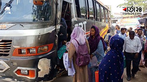 মেহেরপুর জেলায় লোকাল বাস চলাচল শুরু