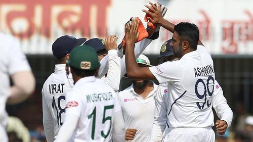 Bangladesh concedes big defeat to India at Indore