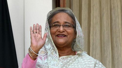 'I have brought with me the good will of my people'- Sheikh Hasina