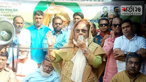 'আন্দোলনের মাধ্যমে খালেদা জিয়াকে মুক্ত করবে বিএনপি'