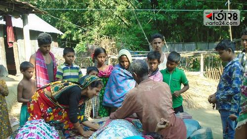 গৌরীপুরে বিদ্যুৎস্পৃষ্ট হয়ে বাবা-মেয়ের মৃত্যু