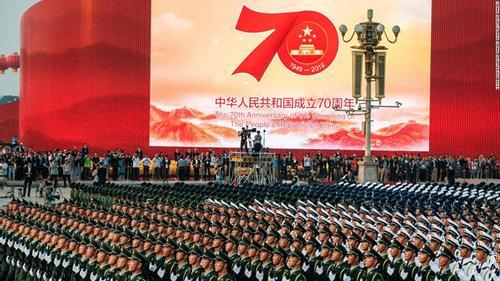 চীনে কমিউনিস্ট শাসনের ৭০ বছর উদযাপন