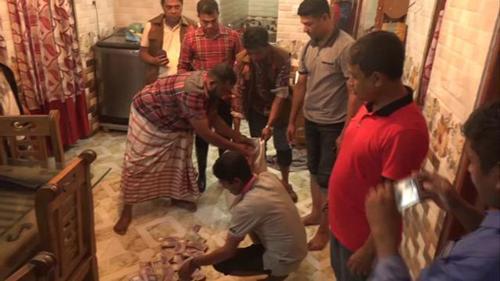 নারায়ণগঞ্জে ট্রাংকে মিললো কোটি টাকা