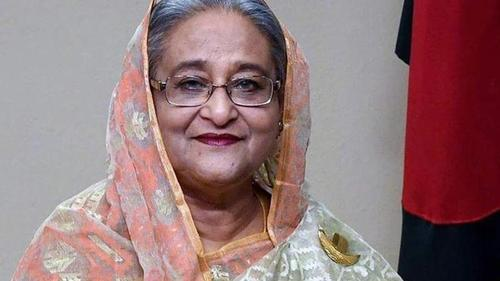India confers Tagore peace award to Sheikh Hasina