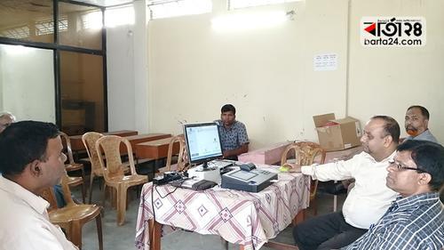 রংপুর-৩ আসনে মক ভোটে সাড়া নেই