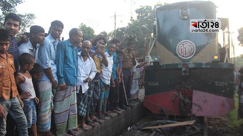 রংপুরে ট্রেন চলাচল স্বাভাবিক, চালক-সহকারী বরখাস্ত