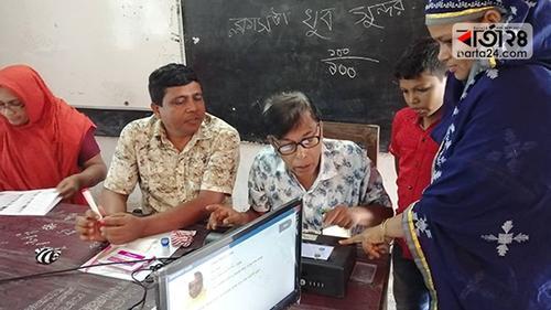 রংপুর-৩ আসনের উপ-নির্বাচনে ভোট চলছে