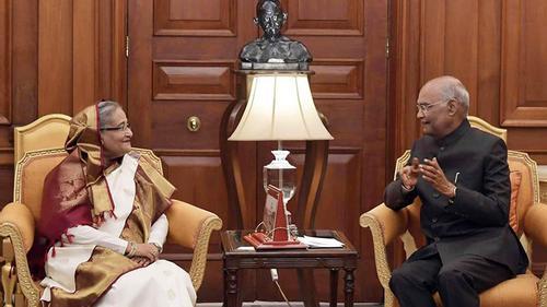 বন্ধুত্বে বাংলাদেশ অগ্রাধিকার: ভারতের রাষ্ট্রপতি