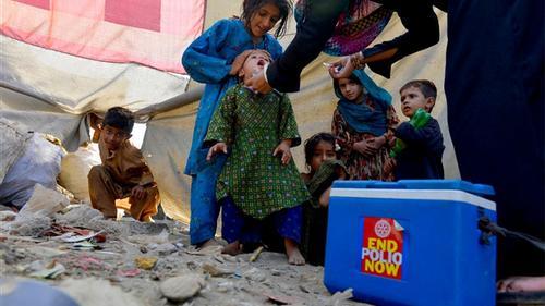 পাকিস্তানে পোলিও রোগীর সংখ্যা বেড়েই চলেছে