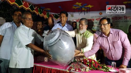 গাইবান্ধায় আট হাজার 'সাইলো' বিতরণ