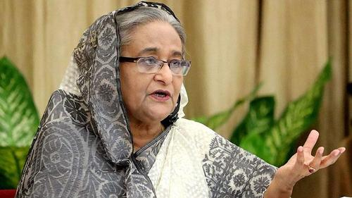 Sheikh Hasina replies to the critics of 'anti-sate pacts'