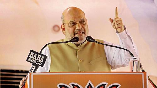 We will drive all infiltrators before Lokshova polls: Amit Shah