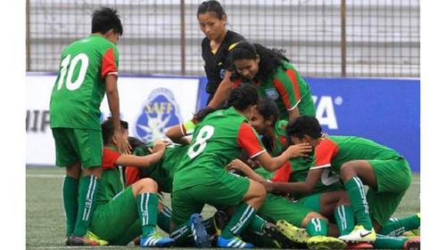 Bangladeshconfirms final defeatingNepalin SAFF under 15 soccer