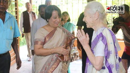 লুসি হল্টের সঙ্গে ভারতীয় হাইকমিশনারের সাক্ষাৎ