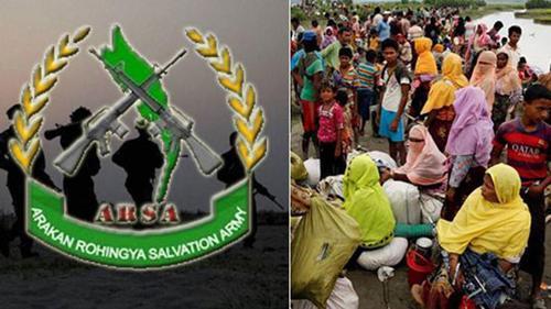 'রোহিঙ্গাদের না ফিরতে হুমকি দিচ্ছে এআরএসএ'