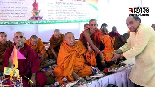 রাঙামাটিতে শুরু হয়েছে মাসব্যাপী কঠিন চীবর দানোৎসব