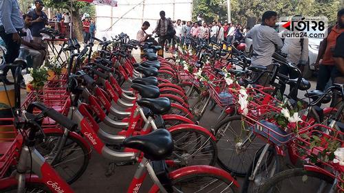 ঢাবি ক্যাম্পাসে 'জোবাইক' সেবা চালু