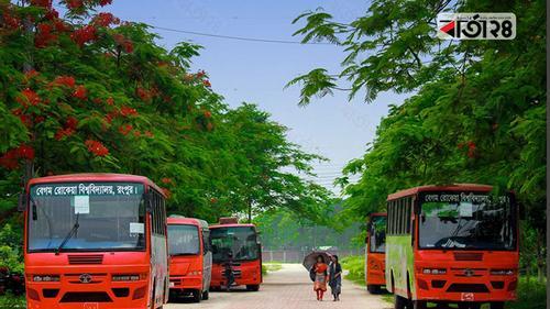 বেরোবির বাস চলবে ৬ রুটে, শিক্ষার্থীদের উচ্ছ্বাস