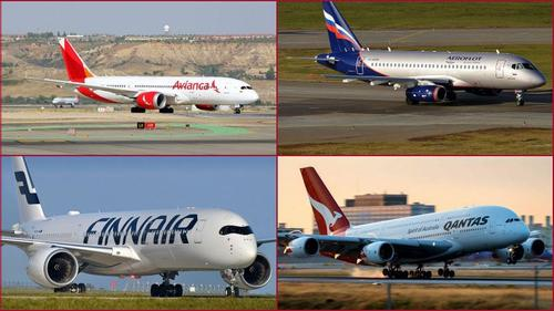Hundred years of Air plane industry: leading ten airliners of the world