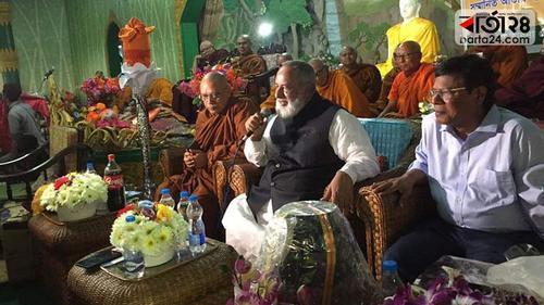 ভবিষ্যতেও বৌদ্ধ সম্প্রদায়ের পাশে থাকবে সরকার: ধর্ম প্রতিমন্ত্রী