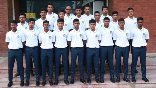 পাকিস্তান সফরে বাংলাদেশ অনূর্ধ্ব-১৬ দল