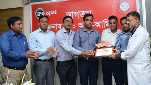 Satisfaction on highly labour friendly environment at GPH ispat