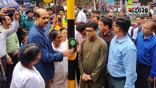 রাজধানীতে 'স্মার্ট ট্রাফিক লাইট সিস্টেম' উদ্বোধন