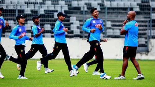Shakib absent in practice, nobody knows the reason