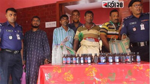 3 drug dealers arrested in Jessore