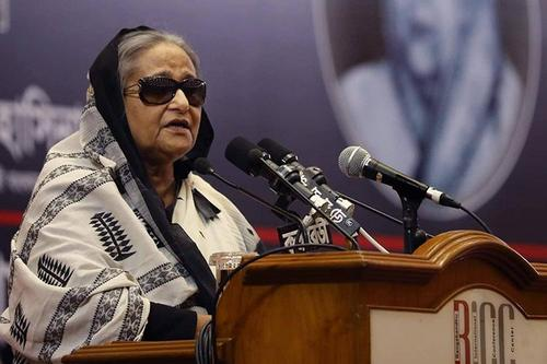 Sheikh Hasina called upon the students to work with dedication