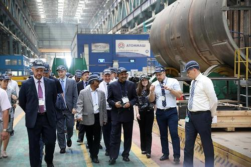 Semi-vessel assembing of Rooppur Plant done