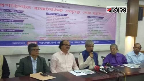 সোনার বাংলা গড়ার হাতিয়ার হবে 'ডিজিটাল প্রযুক্তি': মোস্তফা জব্বার