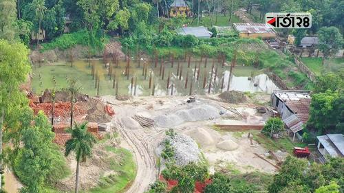 আরএমপির সদর দফতর নির্মাণ কাজ বন্ধে মন্ত্রণালয়ের চিঠি