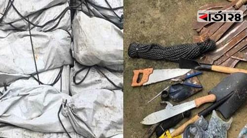 Administration recovers huge weapons from Ngo SHED in Ukhia