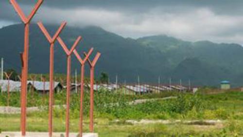 রোহিঙ্গা গ্রাম নিশ্চিহ্ন করে গড়ে উঠছে সরকারি স্থাপনা