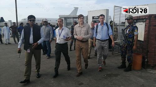 রোহিঙ্গাদের দেখতে কক্সবাজারে মার্কিন প্রতিনিধিরা