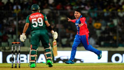Bangladeshconcedes defeat toAfghanistan