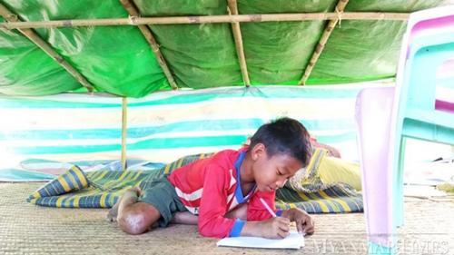 নিজ দেশের বাস্তুচ্যুতদের সহায়তা করছে না মিয়ানমার