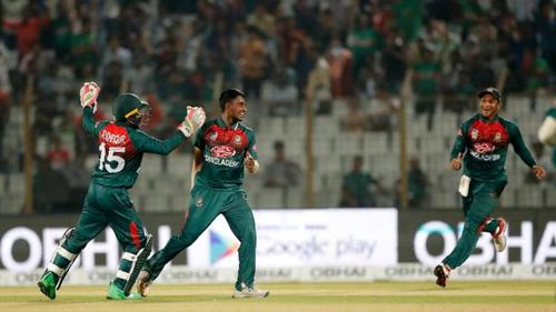 Bangladesh moves to final beating Zimbabwe by a big margin