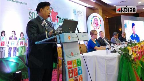Foreign Minister stresses on the cooperation of all concerned for SDG