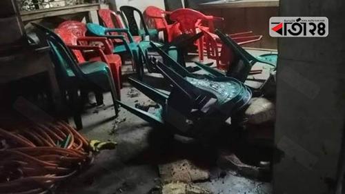 খুলনায় আওয়ামী লীগ কার্যালয়ে বোমা বিস্ফোরণ