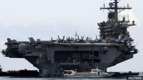মার্কিন নৌবাহিনীর ক্যাপ্টেনের সাহায্য প্রার্থনা