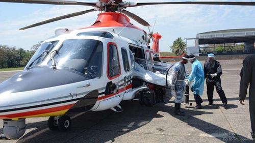 বিমান বাহিনীর বিশেষ হেলিকপ্টার বহন করবে করোনা রোগী