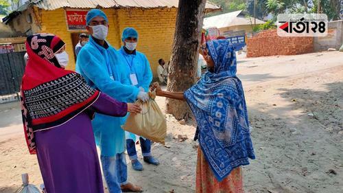 ওষুধসহ খাদ্য সহায়তা দিচ্ছে 'চলো স্বপ্ন ছুঁই'