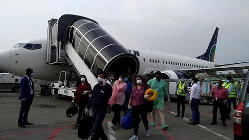US-Bangla airlines brings 48 stranded Bangladeshis from Bangkok