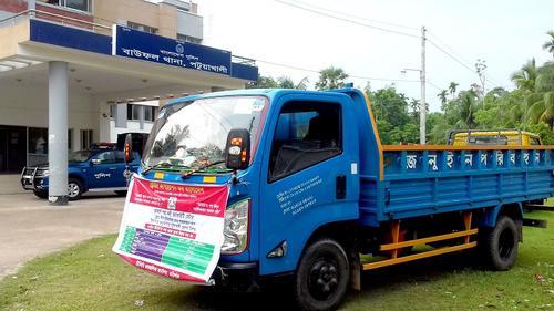 পটুয়াখালীতে টিসিবির তেল ছিনতাইয়ের অভিযোগ