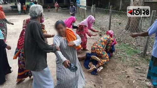 চাঁপাইনবাবগঞ্জে ভাইস চেয়ারম্যানের ওপর নারীদের হামলা
