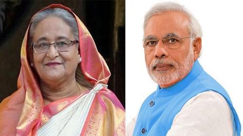 Narendra Modi phones Sheikh Hasina